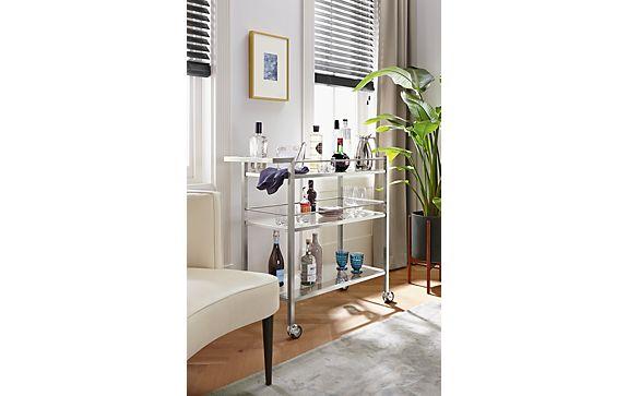 dining room bar cart | Brixton Bar Cart Room - Modern Dining Room Furniture ...
