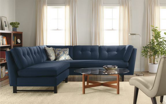 Clarke Sectional room - Living - Room & Board