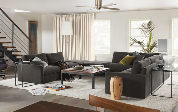 Easton Sectional Room - Living - Room & Board