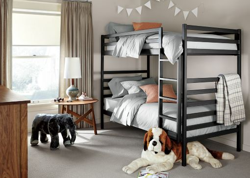 Loft Bed Room And Board inspiring childrens room and study table