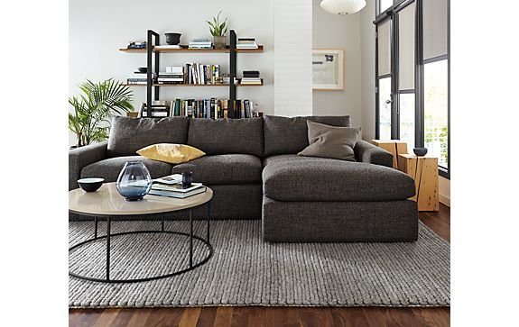 Harding Sofa with Chaise Living Room - Modern Living Room ...