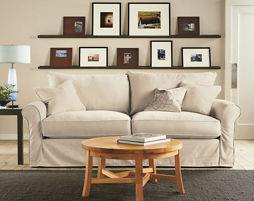 Room and Board: Picture Rail in Natural Steel
