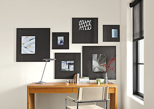 Manhattan Modern Picture Frame in Natural Steel  Modern Wall