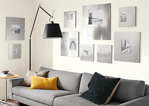 Manhattan Modern Picture Frames In Stainless Steel