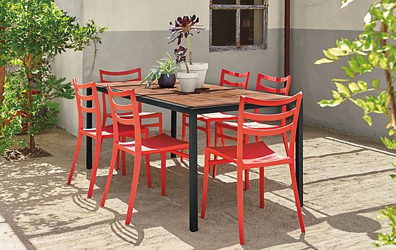 Montego Table With Sabrina Chairs Outdoor Room Board