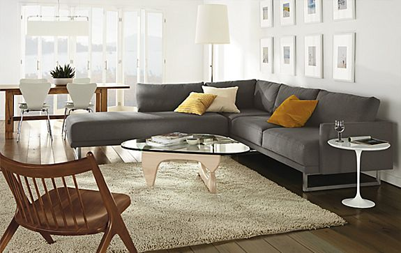 Odin Sectional Room - Living - Room & Board