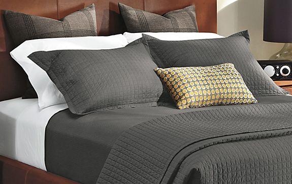 Alfa img - Showing > Charcoal Grey Quilt Bedding : charcoal grey quilt - Adamdwight.com