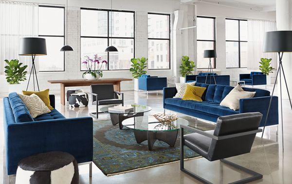 Sabine Sofa Open Living Space Modern Living Room Furniture