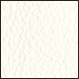 Pistel white leather