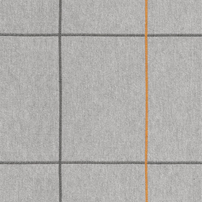 Grey/saffron