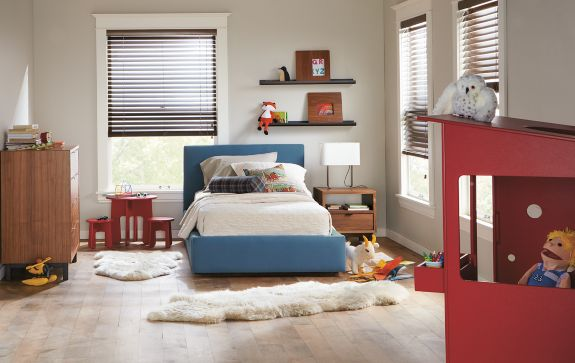 Wyatt Bed with Copenhagen Storage Modern Kids Furniture