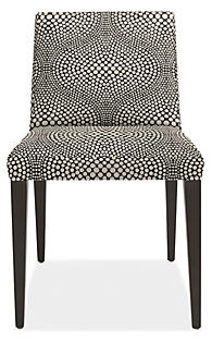 Ava Chair in Mirror Black