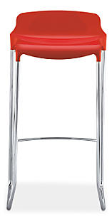Tiffany Bar Stool in Red