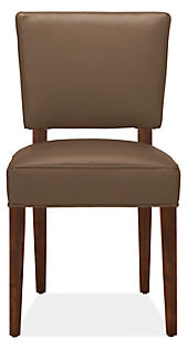 Georgia Dining Chair in Lil Basil Leather