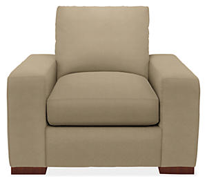 Hamlin Chair in Tannon Khak
