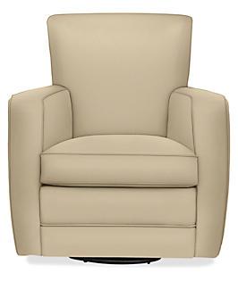Elliot Swivel Chair in Doss Cameo