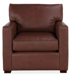 Newton Chair in Leisure Nutmeg Leather