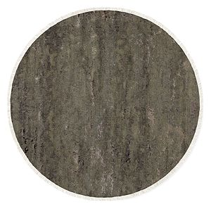 "Shadow 48"" Round Rug in Pewter"