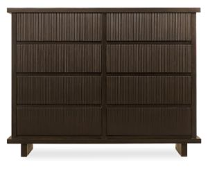 Logic Eight-Drawer Chest in Ebony