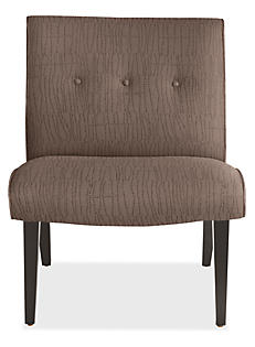 Delia Chair in Meta Pewter