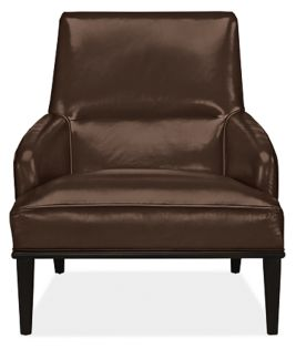 Larsen Chair in Pioneer Chocolate Leather