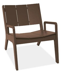 Harbor Lounge Chair in Brown