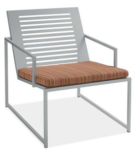 Cruz Chair Seat Cushion in Outdura Sunset Spice