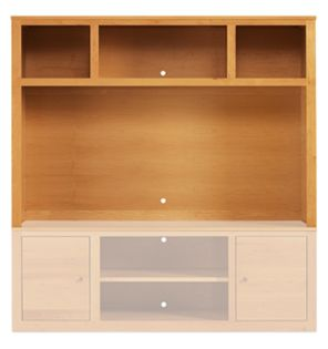Woodwind 70w 48h Media Hutch in Cherry