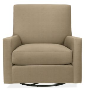 Shay Swivel Chair in Discover Linen