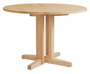 Turner 42r 29h Dining Table in White Oak