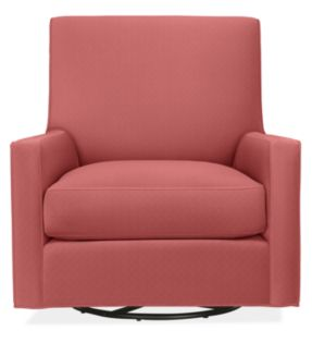 Shay Swivel Chair in Discover Melon