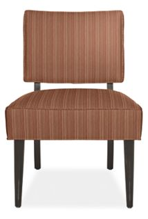 Gigi Chair in Bezel Paprika with Ebony Legs