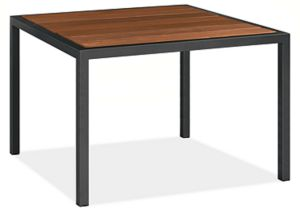 Montego Custom 33sq 42h Counter Table in Graphite