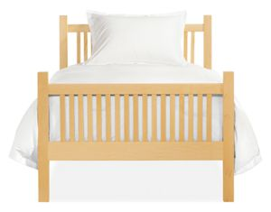 Riley Twin Bed in Maple