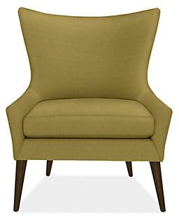 Lola Chair in Dustin Moss