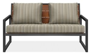 "Montego 57"" Sofa Cushions in Outdura Sunset Sky"