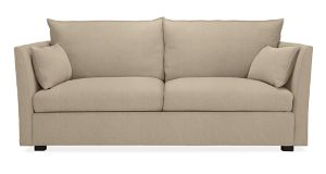 "Wynn 78"" Two-Cushion Sofa in Trip Oatmeal"