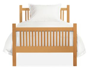 Riley Twin Bed in Pacific Coast Maple