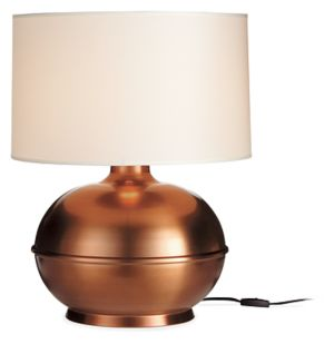 Orb Table Lamp in Copper