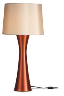 Skyscraper Table Lamp in Rust