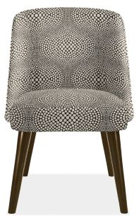 Cora Chair in Mirror Black