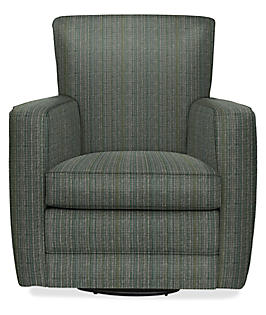 Elliot Swivel Chair in Danby Smoke