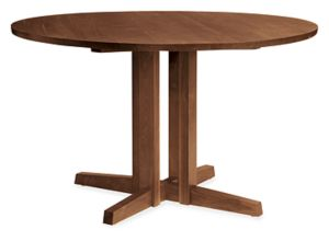 Turner 42r Dining Table in Walnut