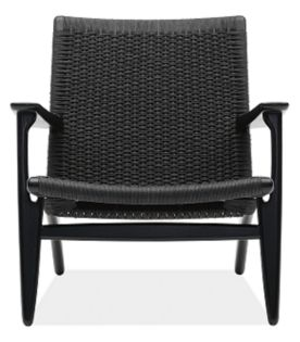 Hans Wegner Easy Chair in Black