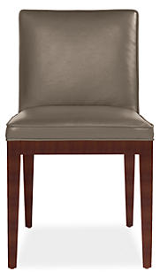 Ansel Side Chair in Lil Dove Leather