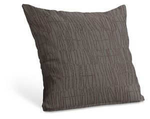 Knife Edge 21sq Pillow in Meta Pepper