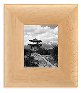 Aspect 8x10 Frame in Maple