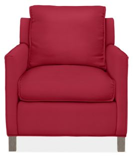 Bram Chair in Dayne Red