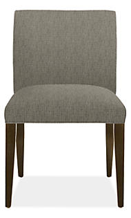 Marie Side Chair in Cary Zinc