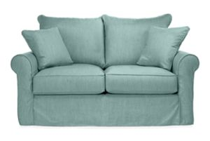 "Kendall 68"" Sofa Slipcover in Danish Sky"